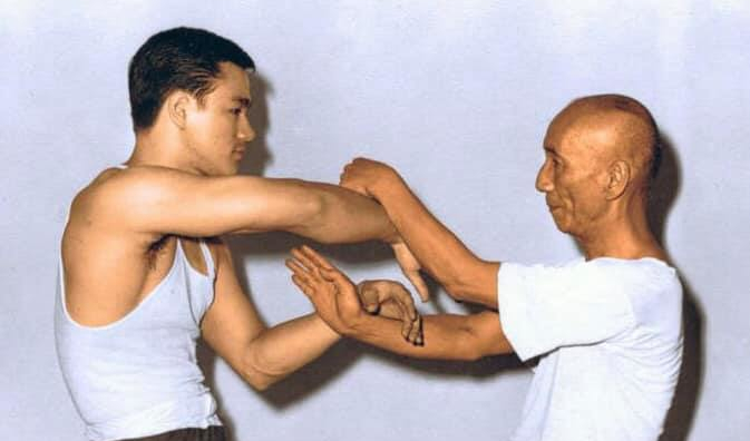 Ip Man és Bruce lee Chi-Sau